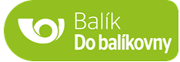 Balík Do balíkovny logo - Česká pošta