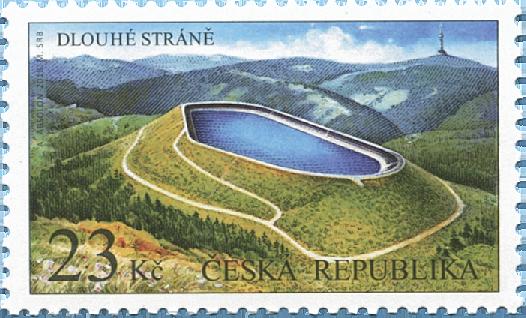 捷克3月14日发行美丽国土德鲁斯特兰邮票