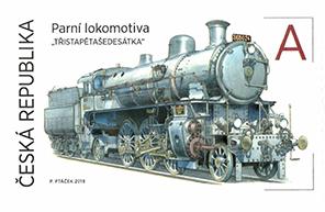 捷克9月5日发行轨道上的世界II - 机车邮票