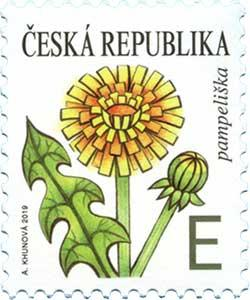 捷克5月22日发行蒲公英邮票