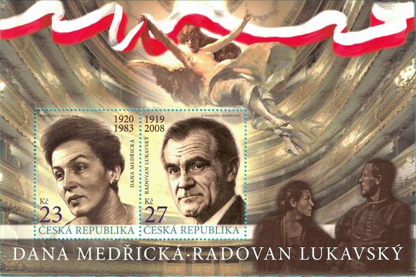 捷克10月23日发行捷克演员和女演员小全张