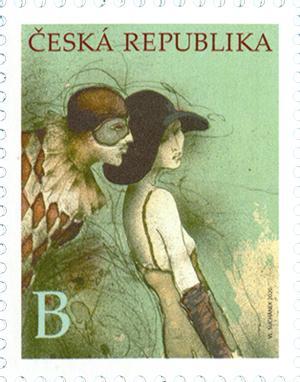 捷克2月26日发行弗拉基米尔・苏卡内克邮票