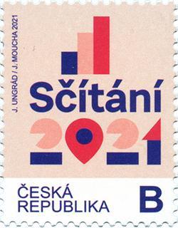 捷克1月20日发行人口普查邮票